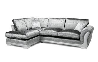 Formal Back Right Hand Facing Arm 3 Seater Open End Corner Sofa