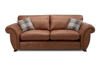 Formal Back 3 Seater Deluxe Sofa Bed