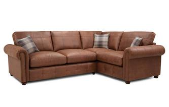 Formal Back Left Hand Facing 3 Seater Corner Sofabed