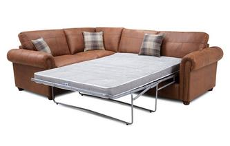 Formal Back Right Hand Facing 3 Seater Deluxe Corner Sofabed