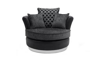 Medium Swivel Chair Alessio