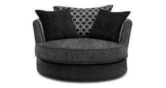 Alessio Large Swivel Chair