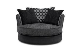 Large Swivel Chair Alessio