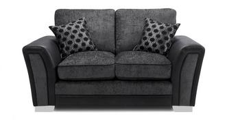 Alessio Formal Back Small 2 Seater Sofa