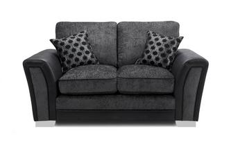 Formal Back Small 2 Seater Sofa Alessio
