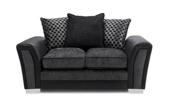 Pillow Back Small 2 Seater Sofa Alessio
