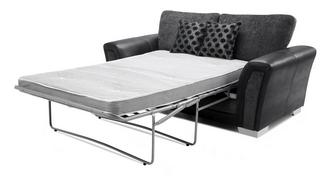 Alessio Formal Back 2 Seater Deluxe Sofa Bed