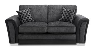 Alessio Formal Back 2 Seater Supreme Sofa Bed