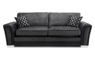 Formal Back 4 Seater Sofa Alessio