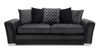 Alessio Pillow Back 4 Seater Sofa
