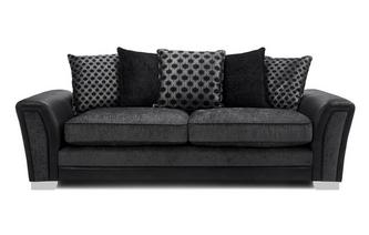 Pillow Back 4 Seater Sofa Alessio
