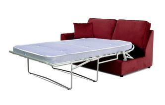Velvet Left Hand Facing 1 Arm 2 Seat Deluxe Bed Unit