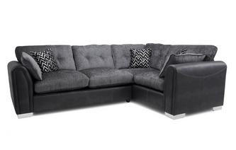 Formal Back Left Hand Facing Supreme Sofabed Corner Sofa