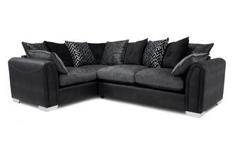 Pillow Back Right Hand Facing Supreme Sofabed Corner Sofa