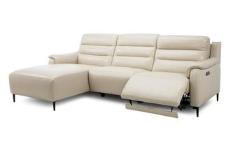 Left Hand Facing Power Plus Chaise Sofa
