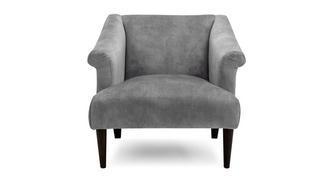 Anaya Velvet Accent Chair