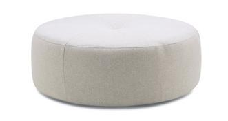 Anaya Plain Round Footstool