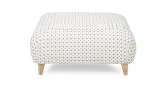 Angelic Pattern Large Footstool