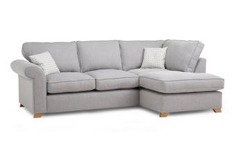 Left Arm Facing Corner Deluxe Sofa Bed Angelic