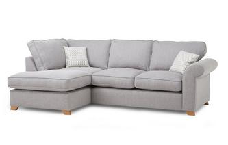 Right Arm Facing Corner Deluxe Sofa Bed Angelic
