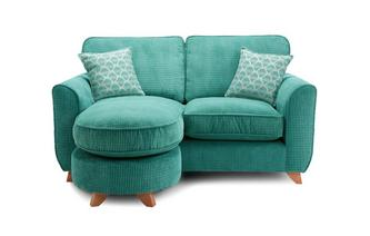 Formal Back 2 Seater Lounger Sofa