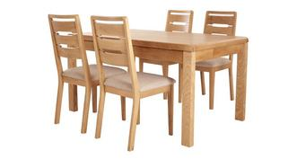 Archer Extending Table & 4 Chairs