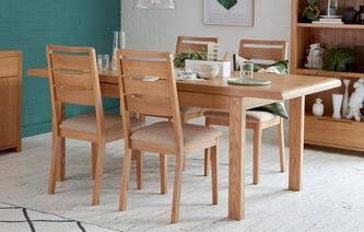 Archer Extending Table & 4 Chairs Archer