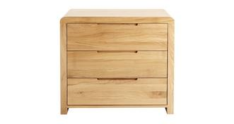 Archer Bedroom 3 Drawer Wide Chest