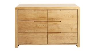 Archer Bedroom 6 Drawer Wide Chest