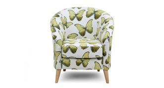 Arica Pattern Accent Chair