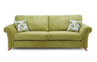 Formal Back 4 Seater Sofa Arica