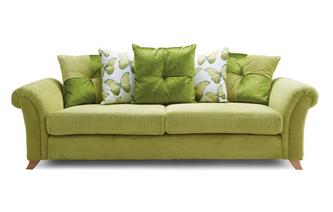 Pillow Back 4 Seater Sofa Arica