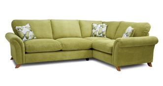 Arica Formal Back Left Hand Facing 3 Seater Corner Sofa