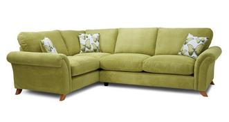 Arica Formal Back Right Hand Facing 3 Seater Corner Sofa