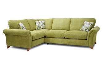 Formal Back Right Hand Facing 3 Seater Corner Sofa Arica