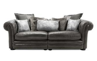 4 Seater Split Sofa Arundale Leather