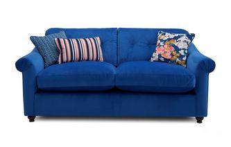 Velvet 3 Seater Supreme Sofa Bed