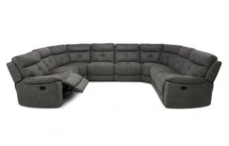 Option N Manual 8 Piece U Shape Sofa Arizona