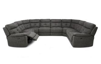 Option O Power 8 Piece U Shape Sofa Arizona