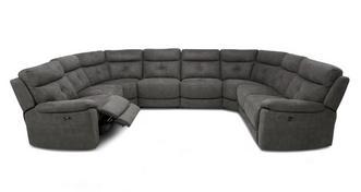 Atara Option P Power Plus 8 Piece U Shape Sofa