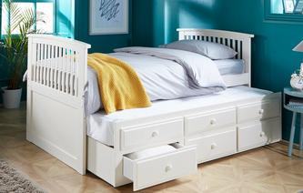 Aubrey Day Bed With Trundle Aubrey