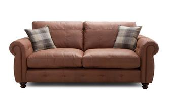 Formal Back 3 Seater Sofa Augustus