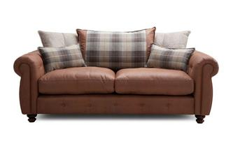 Pillow Back 3 Seater Sofa Augustus