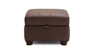 Augustus Plain Storage Footstool