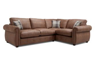 Formal Back Left Hand Facing 3 Seater Corner Sofa Bed Augustus