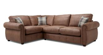 Augustus Formal Back Right Hand Facing 3 Seater Corner Sofa Bed
