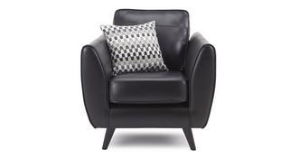 Aurora Leather Armchair