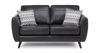 Aurora Leather 2 Seater Sofa