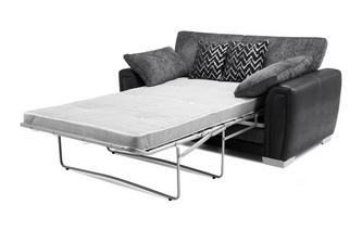 Formal Back 2 Seater Deluxe Sofa Bed Carrara