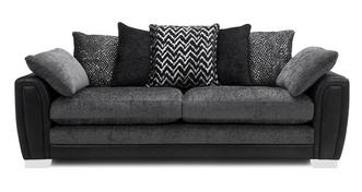 Aviana Pillow Back 4 Seater Sofa